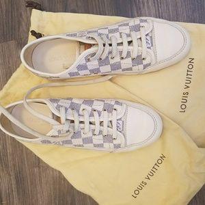 Louis Vuitton White Capucine Sneakers